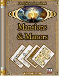 RPG Item: Mansions & Manors Floorplans