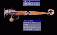Character: Fokker Eindecker