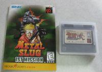 Video Game: Metal Slug 1st Mission