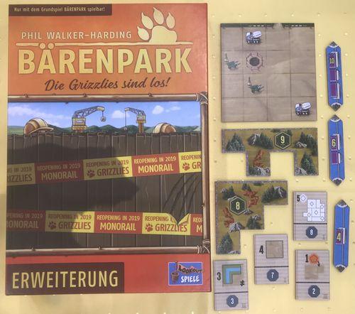 Board Game: Bärenpark: The Bad News Bears