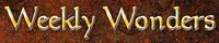 Series: Weekly Wonders