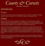 RPG Item: Courts & Corsets