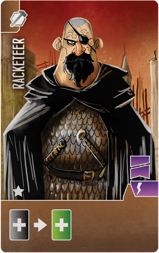 Architects of the West Kingdom: Racketeer