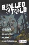 Issue: Rolled & Told (Issue 11 - Jul 2019)