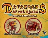 Board Game: Defenders of the Realm: Minions Expansion – Demons