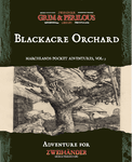 RPG Item: Marchlands Pocket Adventure: Blackacre Orchard