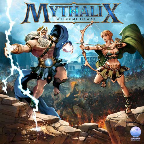 Mythalix Box Art by James Churchill