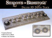 Board Game Accessory: Shadows of Brimstone: Resin 3D Depth Track
