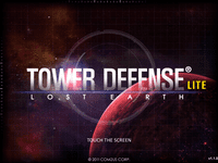 Video Game: Tower Defense: Lost Earth