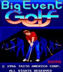 Video Game: Big Event Golf