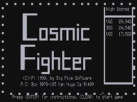 Video Game: Cosmic Fighter
