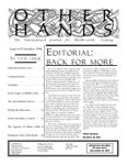 Issue: Other Hands (Issue 6/7 - Oct 1994)
