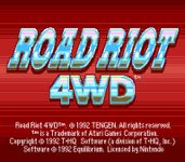 Video Game: Road Riot 4WD