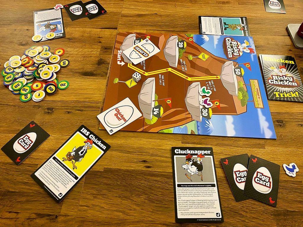 Board Game: Risky Chicken