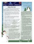 Issue: The Geek Gazette (Issue 10 - Jan 2008)