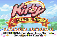 Video Game: Kirby & the Amazing Mirror