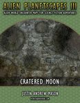 RPG Item: Alien Planetscapes 3: Cratered Moon