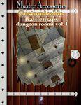 RPG Item: Customizable Battlemaps: Dungeon Rooms Vol. I