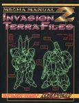 RPG Item: Mecha Manual 2: The Invasion Terra Files