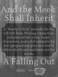 RPG Item: Ready to Roll: And the Meek Shall Inherit - A Falling Out