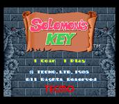 Video Game: Solomon's Key