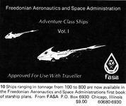 RPG Item: Adventure Class Ships Volume 1 (Boxed Set)