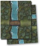 RPG Item: GameMastery Flip-Mat: River Crossing