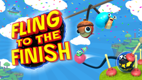 Video Game: Fling to the Finish