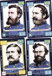 Union Commanders, John Buford, Carl Schurz, George Sykes and John Sedgewick