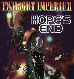 Twilight Imperium: Second Edition – Hope's End Cover Artwork