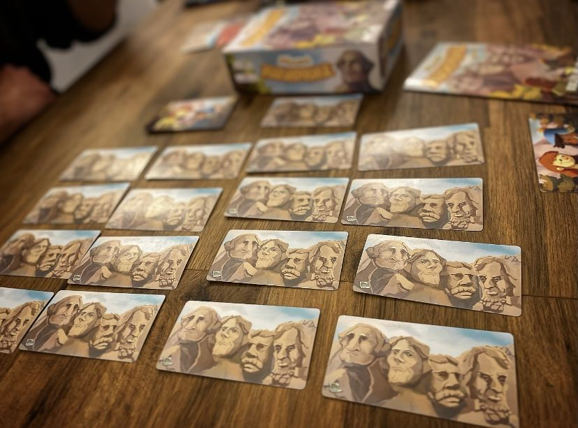 Board Game: Mount Rushmore