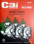 Board Game: Soviet Dawn: The Russian Civil War, 1918-1921