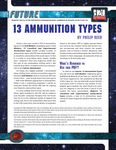 RPG Item: 13 Ammunition Types