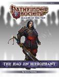 RPG Item: Pathfinder Society Scenario 10-11: The Hao Jin Hierophant