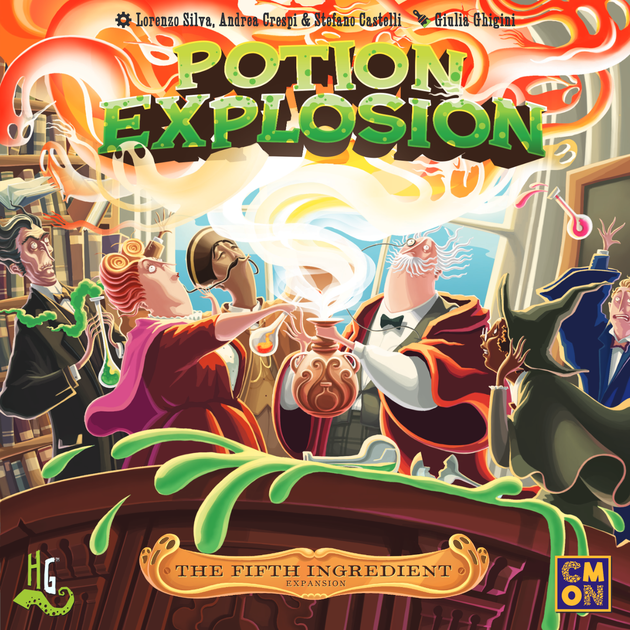 Potion Explosion 2nd Edition Interactive Family Friendly Fun Board Game CMON
