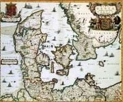 RPG Item: Antique Maps 12: The Kingdom of Denmark of the 1600's