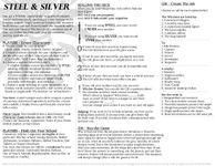 RPG Item: Steel & Silver