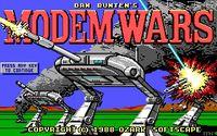 Video Game: Modem Wars