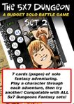 RPG Item: The 5x7 Dungeon Set 2