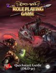 RPG Item: Kings of War the Roleplaying Game Quickstart Guide (D&D 5E)