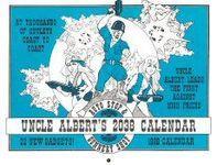 Board Game: Uncle Albert's Auto Stop & Gunnery Shop 2038 Calendar