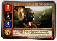 Board Game: Spartacus: Zephyros Promo Card