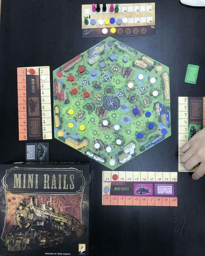 Board Game: Mini Rails