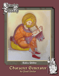 RPG Item: Chivalry & Sorcery Character Generator