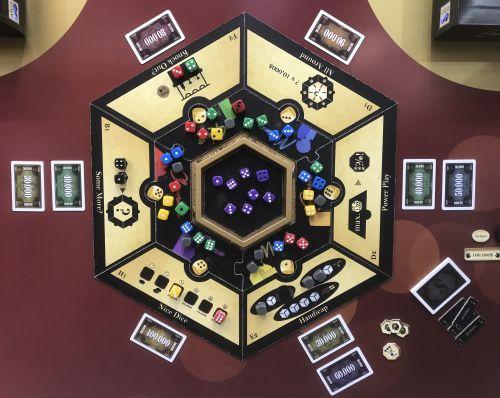 Board Game: Las Vegas Royale