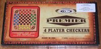 Board Game: 4 Player Checkers