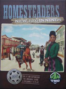 Homesteaders: New Beginnings Cover Artwork