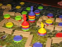 Board Game: Dschingis Khan: Bewegung an der Großen Mauer