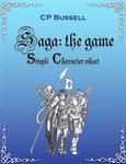 RPG Item: Saga: the Game - Character Sheet