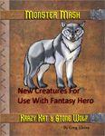 RPG Item: Monster Mash: Krazy Kat & Stone Wolf